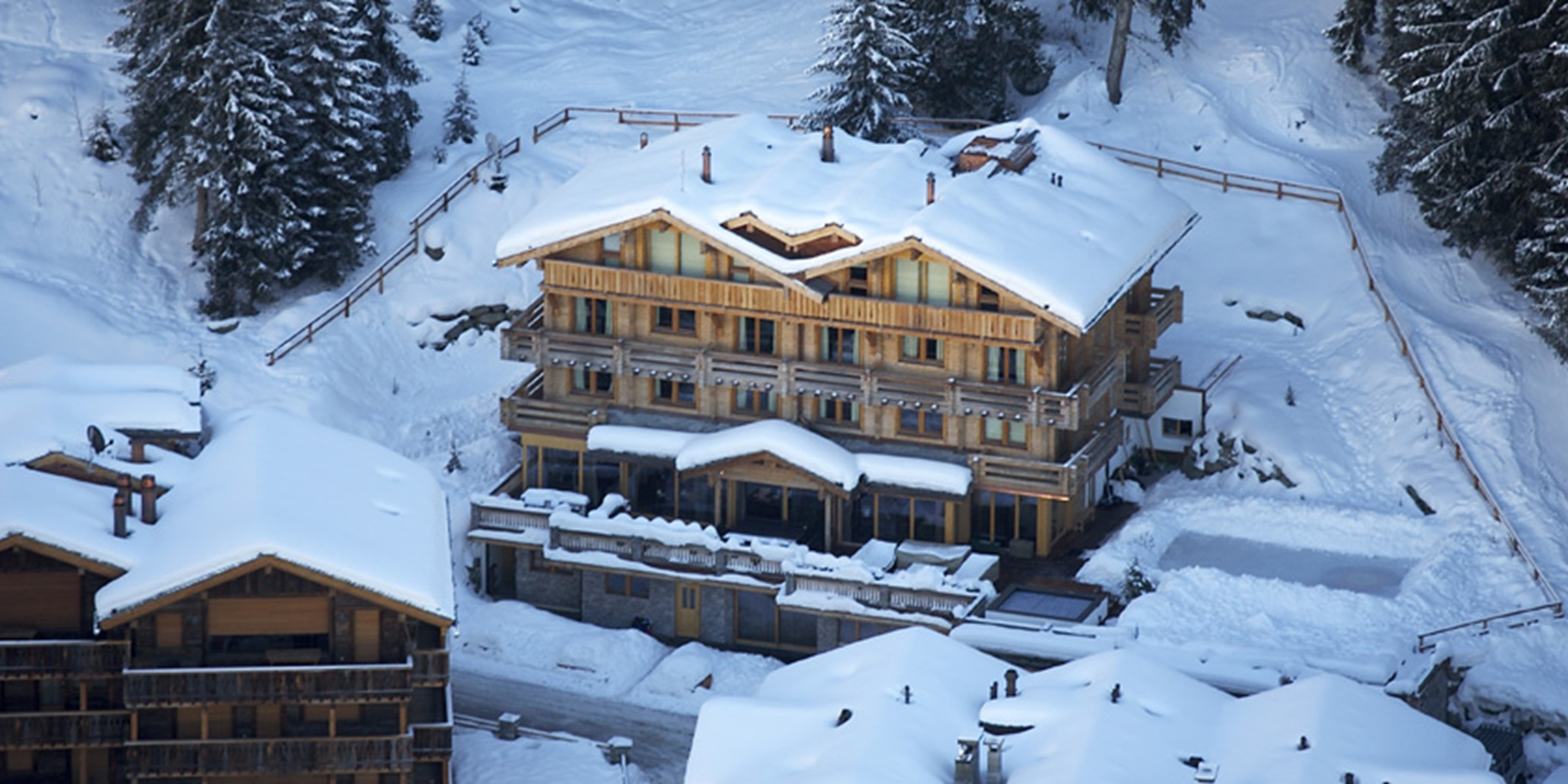 The Lodge Aerial
