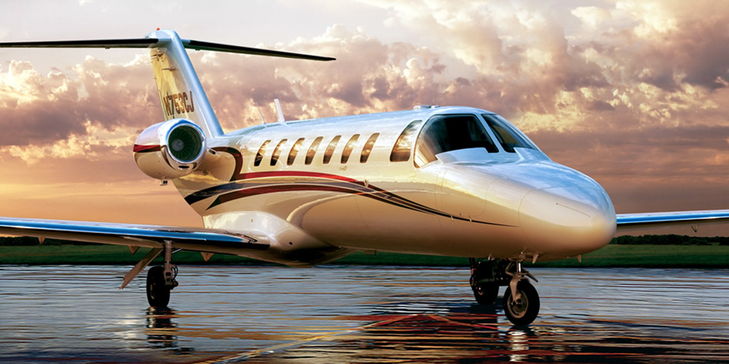 Citation Jet Range Exterior