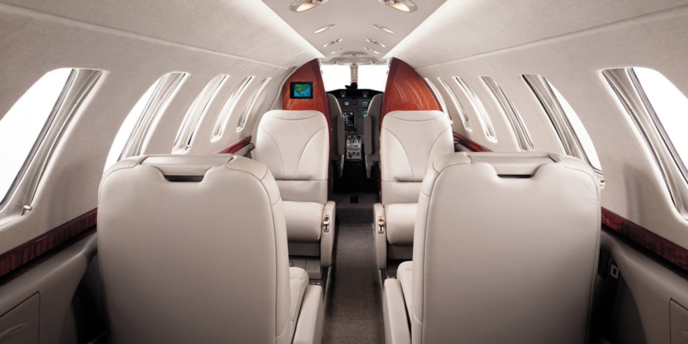 Citation Jet Range Interior