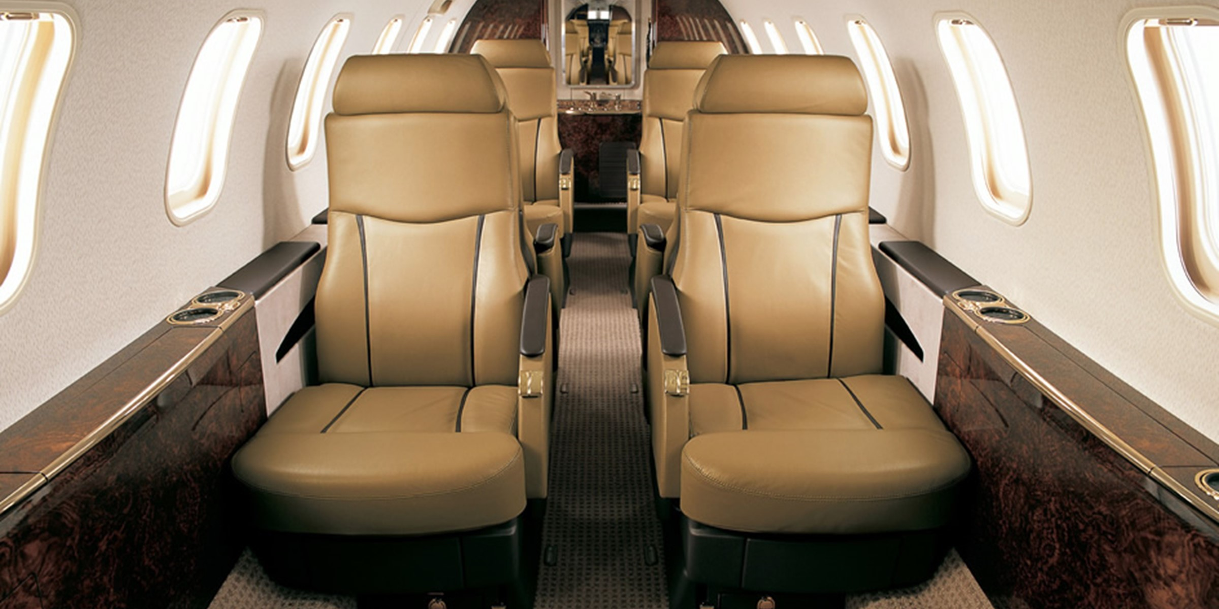 Learjet 40 45 XR Interior